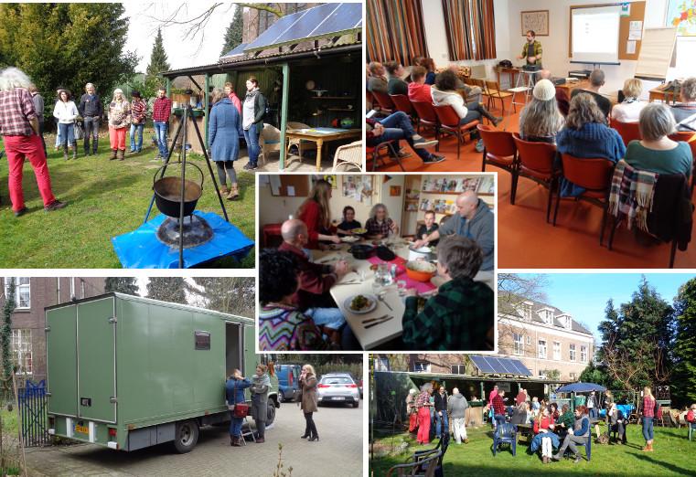 Goedkoop Alternatief Wonen : Omslag aanloopdag wonen in een klein huis tiny house in
